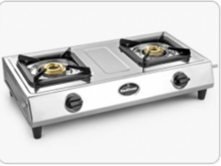Sunflame Supreme 2B Traditional Stainless Steel Cooktop