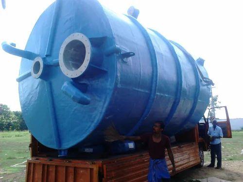 Acid Storage Tank - 5000 L FRP Acid Storage Tank