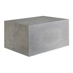 Side Walls Concrete Block 4 Inch, Size: 400 Mm *100 Mm*200 Mm