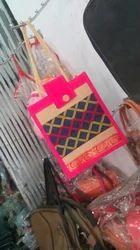 Designer Jute Bags For Ladies