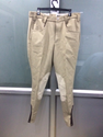 Men Breeches With Clarino Leather