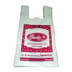 W Cut Poly Bag