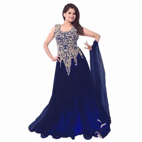 Ladies Gown - Designer Ladies Gown Manufacturer from Surat 2f90d9c61