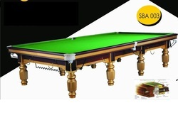 Gold Snooker Table