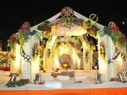 Wedding decoration in bokaro steel city wedding mandap decoration services junglespirit Image collections