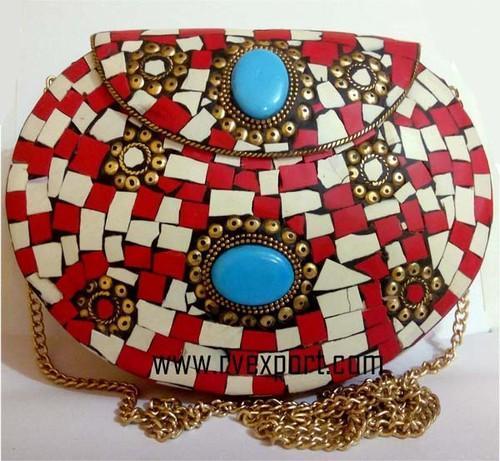 9d363e70e4ce Rexine Ladies Fashion Moaisac Clutch Bags