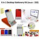 6 in 1 Desktop Stationery Kit ( H-333)