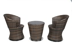Cozy Design Outdoor Wicker Coffee Set