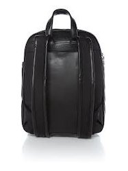 Black Backpack Bag, Capacity: 25 L