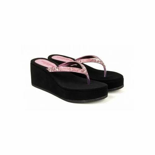 ff149ec3e Ladies Wedge Heel Slipper at Rs 1099 /piece(s) | Ladies Flip Flop ...
