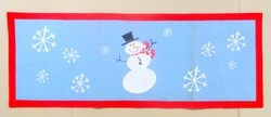 Santa Table Runner