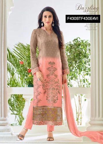bfa05459e1 Party Wear Salwar Kameez at Rs 1295 /piece(s) | Straight Suit - Fab ...