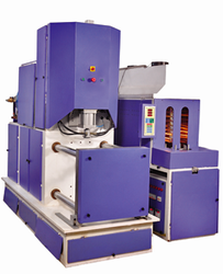 GS 20 ltrs Jar Semi Automatic Pet Blow Molding Machine, 90-200, 45 Kw