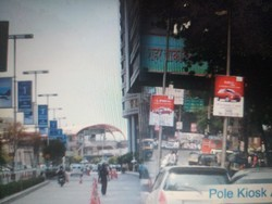 Pole Kiosk Advertising Service