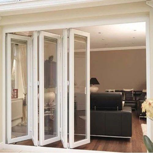 UPVC Folding Door & Upvc Folding Door Unplasticized Polyvinyl Chloride Folding Door ...