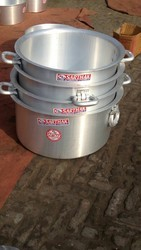 Gray Aluminum Cookware, For Kitchen