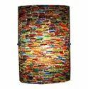 Deshilp Overseas Glass Multi Mosaic Wall Lamp