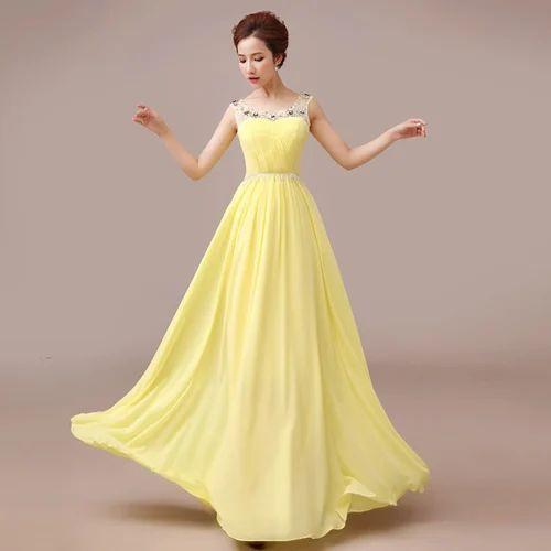 Beaded Long Gowns, Designer Gown | Sector 1, Gautam Budh Nagar ...