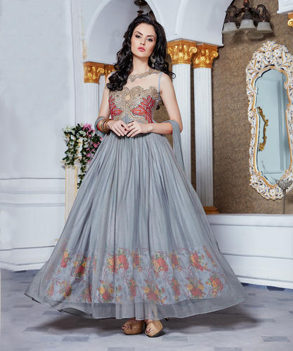 Designer Heavy Partywear Gown At Rs 1550 Pieces Umarwada