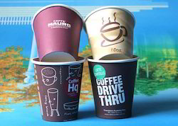Paper White Cold Coffee Cup