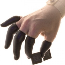 Antistatic / ESD Finger Cots - Black
