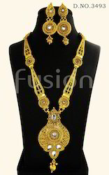 Traditional Antique Wedding Necklace Set