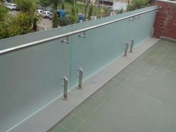 Designer Glass Railing