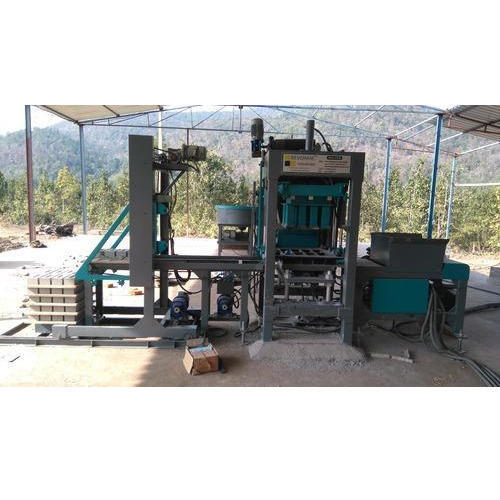 Revomac Hydraulic Concrete Block Making Machine