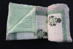 Kantha Handmade Cotton Quilt