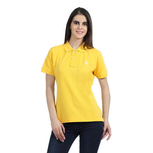 44a0b177f7815f Women Yellow Polo T Shirts, Women Polo T Shirts   Lower Parel ...