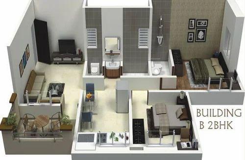 Home Interior 2bhk