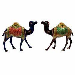 Meenakari Work Metal Camel