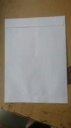 White Paper Envelope
