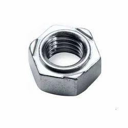 Aar Pee Hexagonal SS Hex Weld Nut, Size: 25 MM