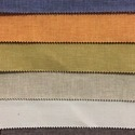 Brown And Orange Brass Fabrics