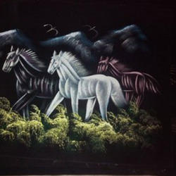 Painting - Two Horses