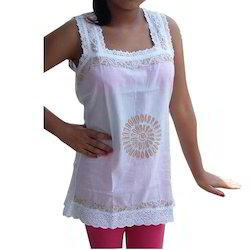 Chikan Teenage Cotton Top