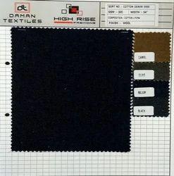 Cotton Trouser Fabric, Plain/Solids, 4 colours Available
