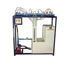 Fluid Friction In Pipes Determination Unit