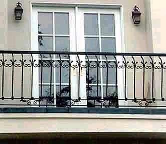 Wrought Iron Balcony Railing at Rs 250 /square feet | रॉट ...