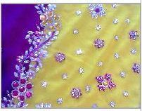 Hand Embroidered Sarees In Howrah West Bengal Hand Embroidered