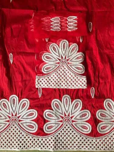 Red African George Fabric