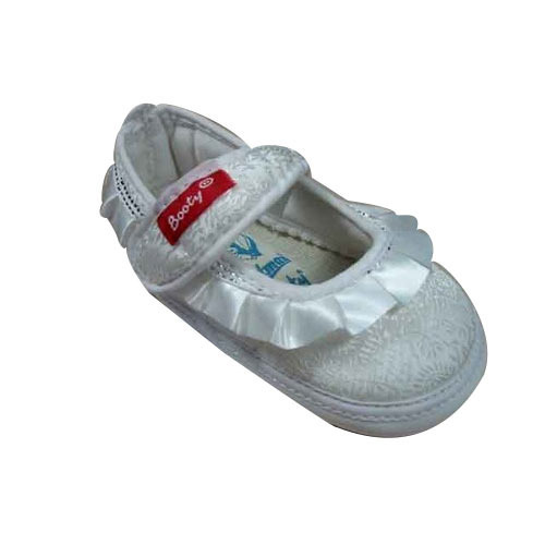3ba618a893941 Laced Baby White Low Ankle Shoes Booty at Rs 349  pair