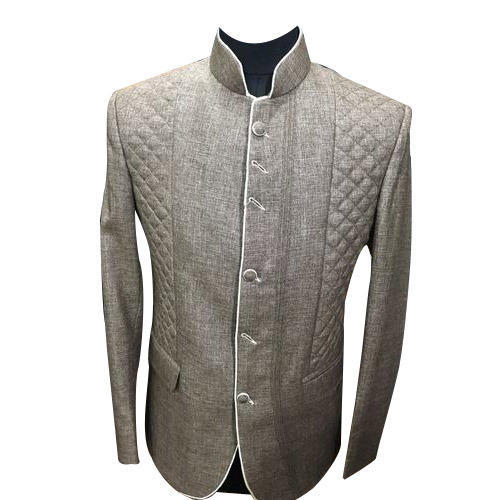 Round Neck Mens Blazer - View Specifications   Details of Mens ... fdf2f7bff11fe