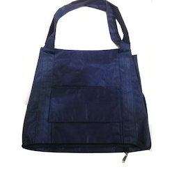 Plain Polyster Shopping Bags for Home Use, Size: 14