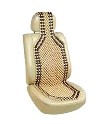autofurnish car wooden bead seat acupressure design