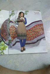 Saheli Female Unstiched cotton Dress Materials