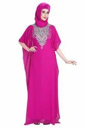 Fancy Dubai Abaya Moroccan Kaftan