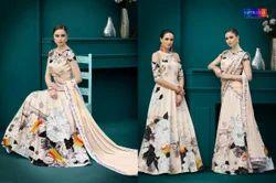 Natural Silk Digital Printed Lehenga Choli