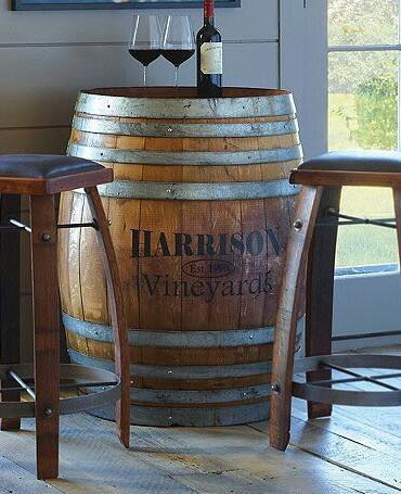 Oak Wine Barrel Bistro Table At Rs 60000 Piece Sector 10 Noida